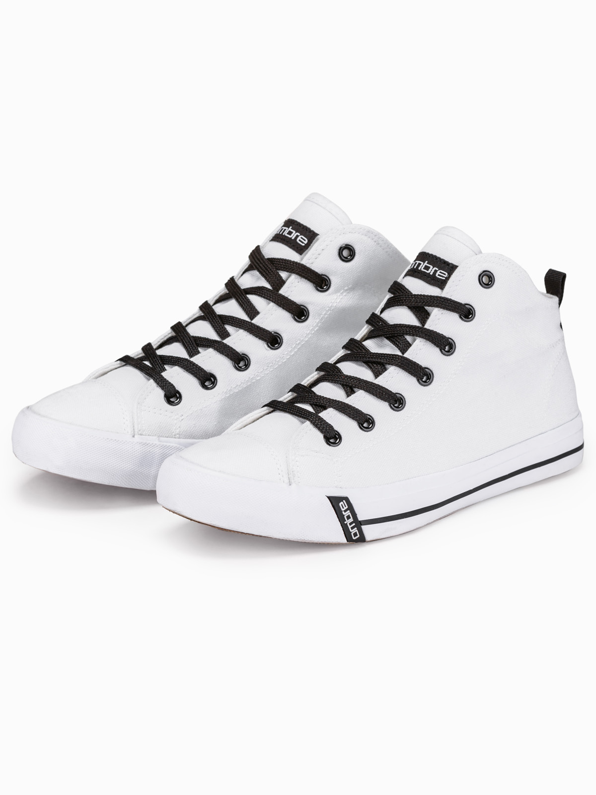 Men's high-top trainers T304 - white | MODONE wholesale