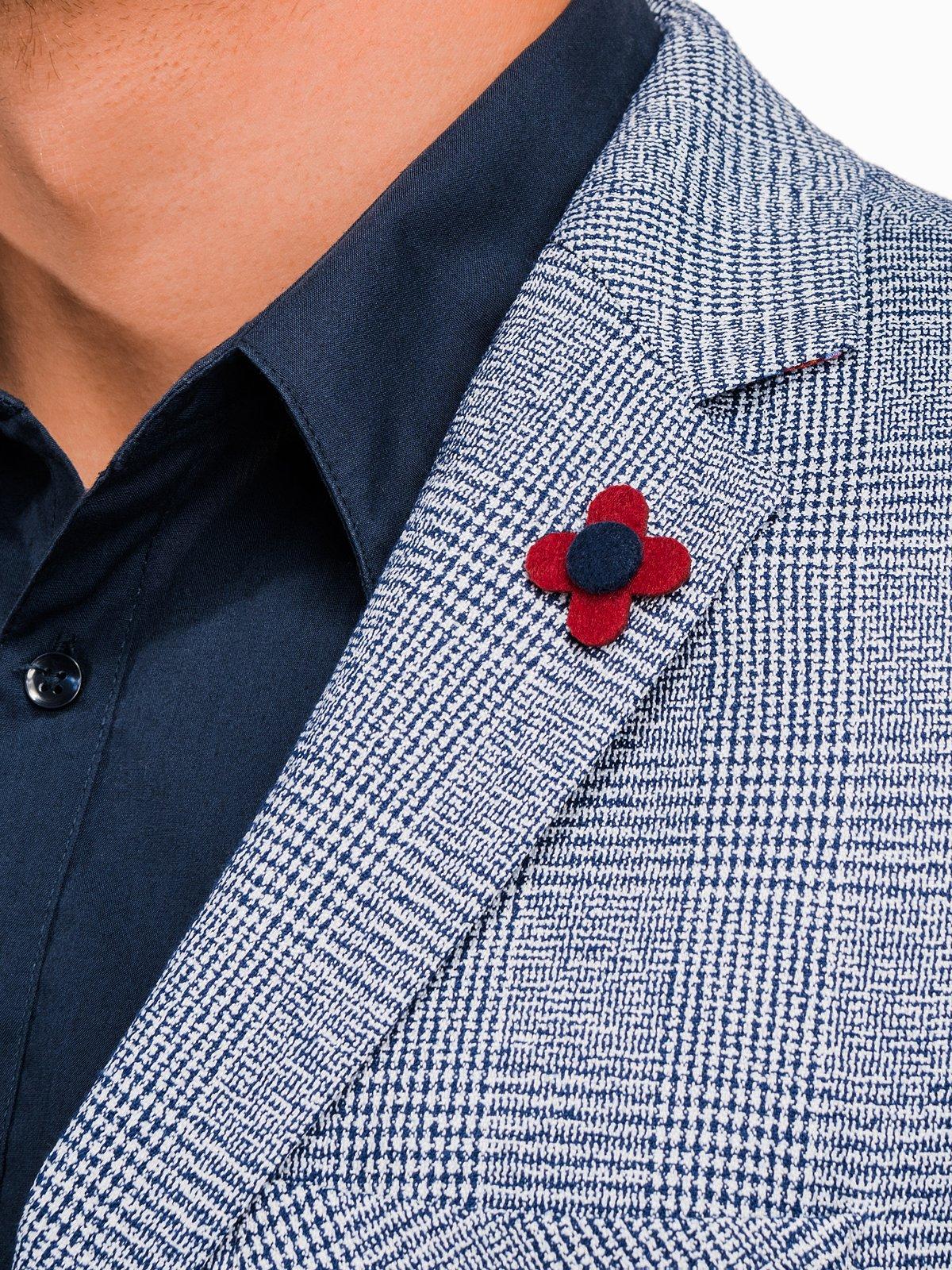 Mens Lapel Pin Button Lapel Pin Custom Lapel Pins Men Grey