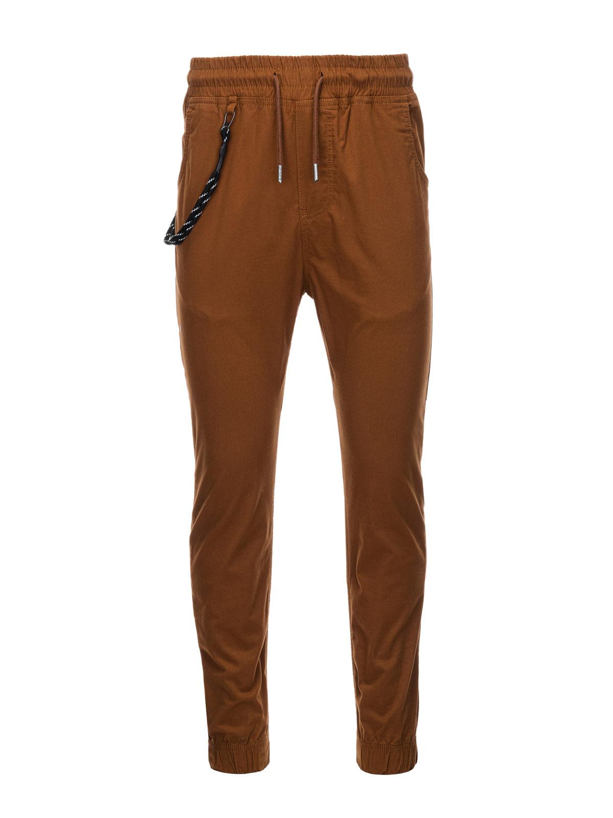 Men's pants joggers P908 - brown   MODONE wholesale - Clothing For Men