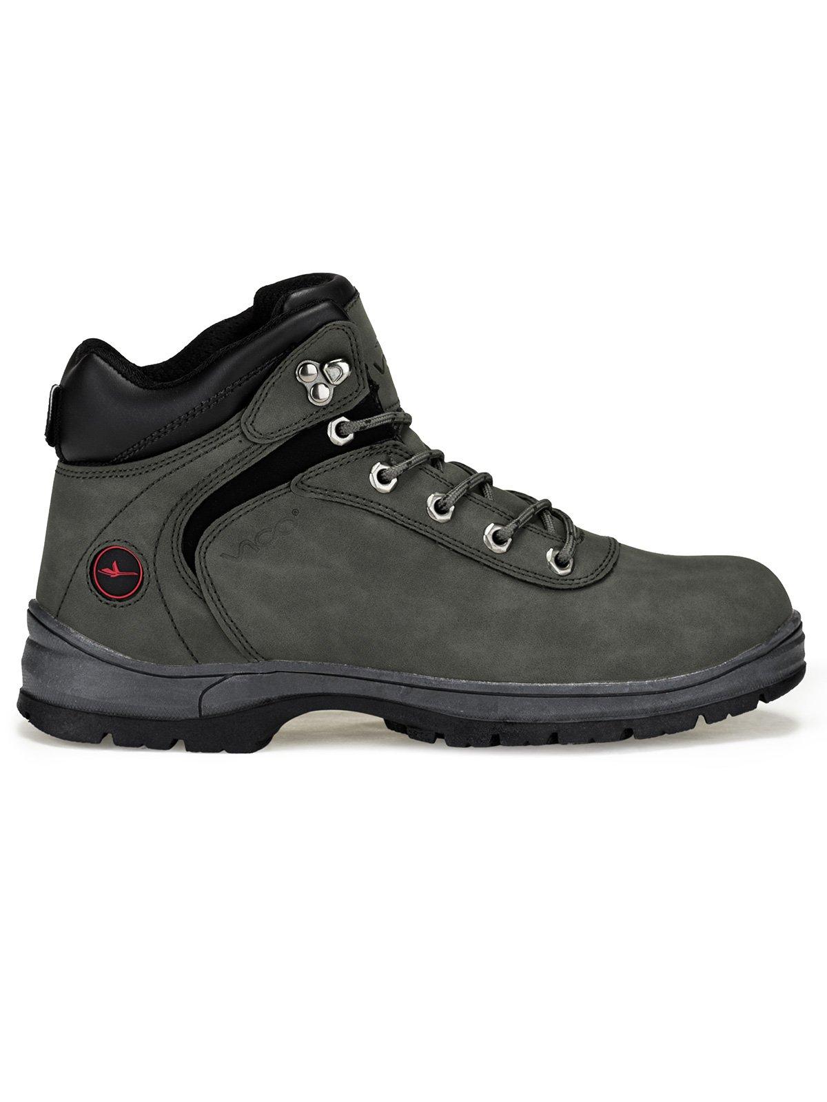 Men's winter boots T250 - dark grey