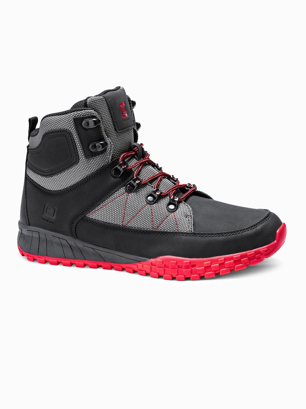 Men's winter shoes trappers T315 black | MODONE wholesale