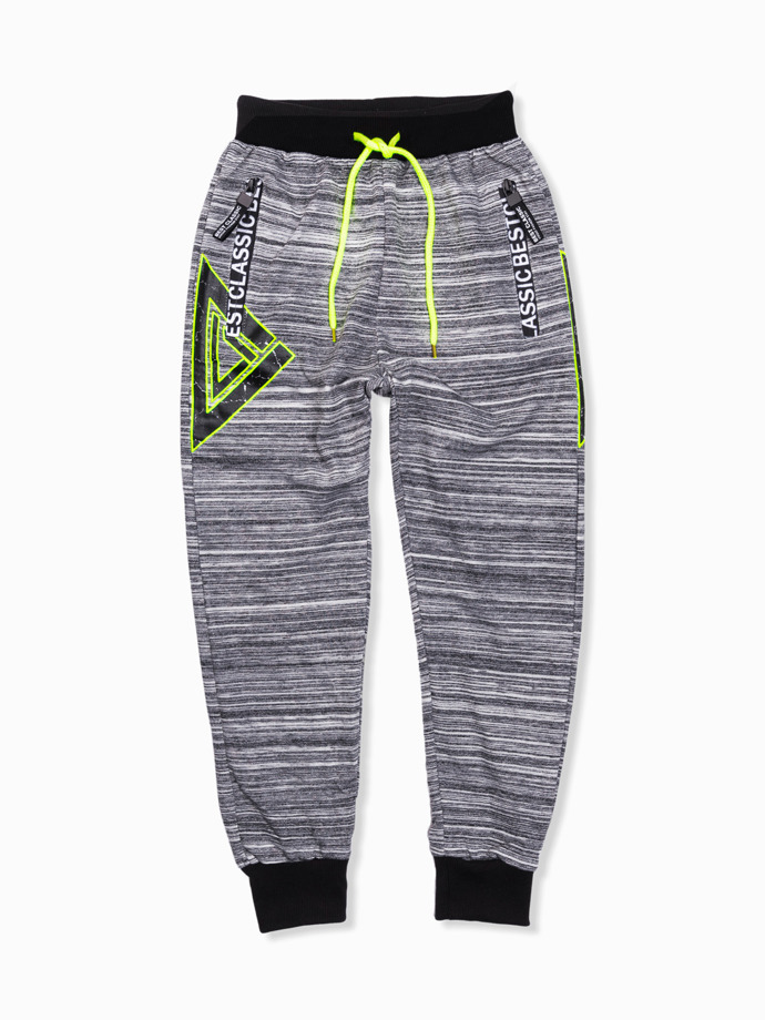 Boy's sweatpants KP016 - dark grey