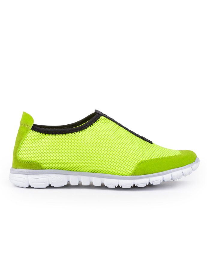 Men's sports shoes T118 - yellow
