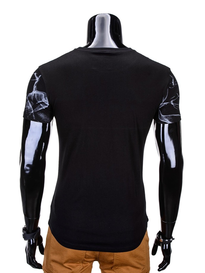 Men's t-shirt S767 - black