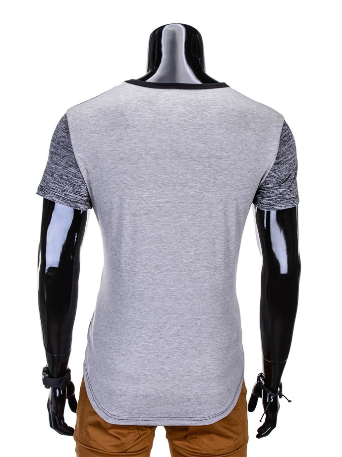 Men's t-shirt S773 - grey