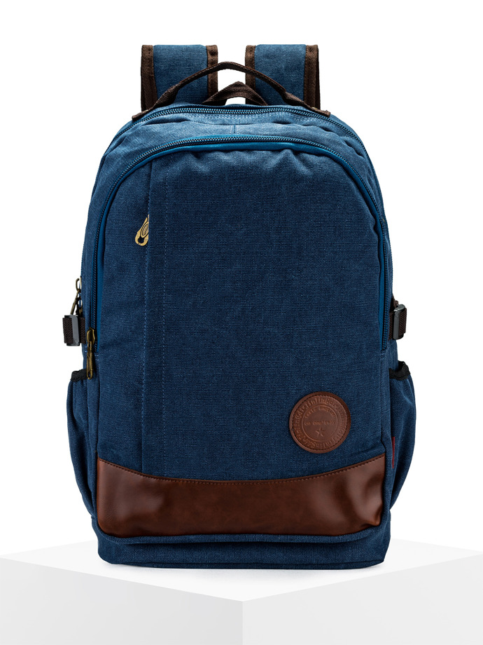 Men's backpack A143 - navy