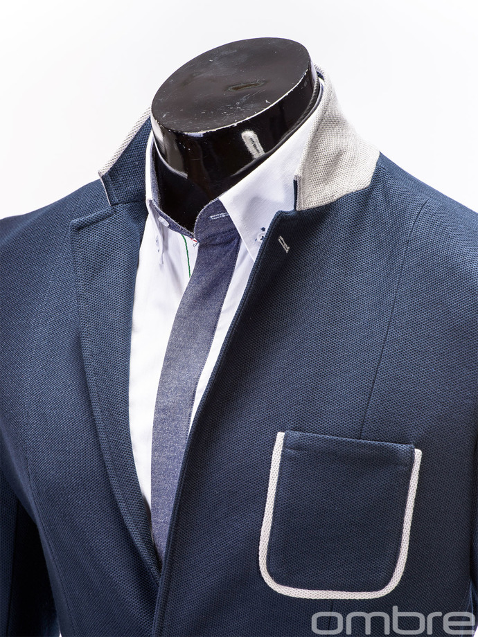 Men's blazer M41 - dark navy