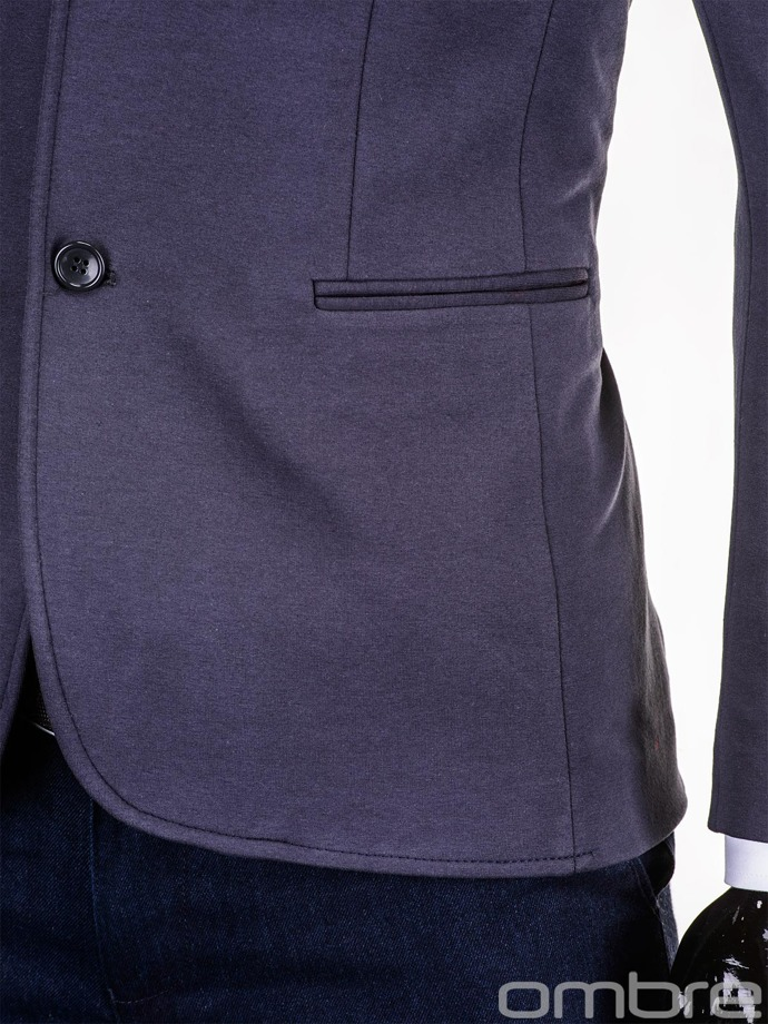 Men's blazer M54 - dark grey