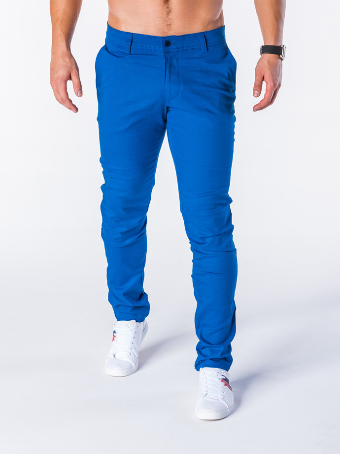 Men's chino pants P631 - blue