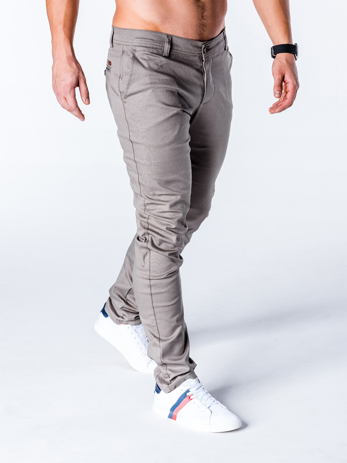 Men's chino pants P631 - grey