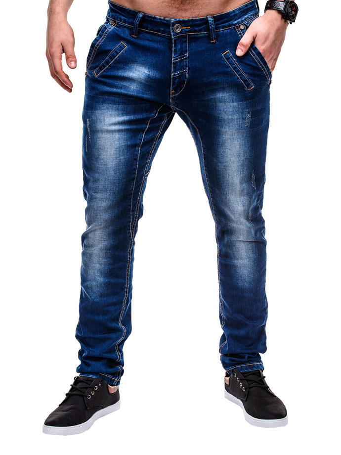 Men's denim pants P450 - navy