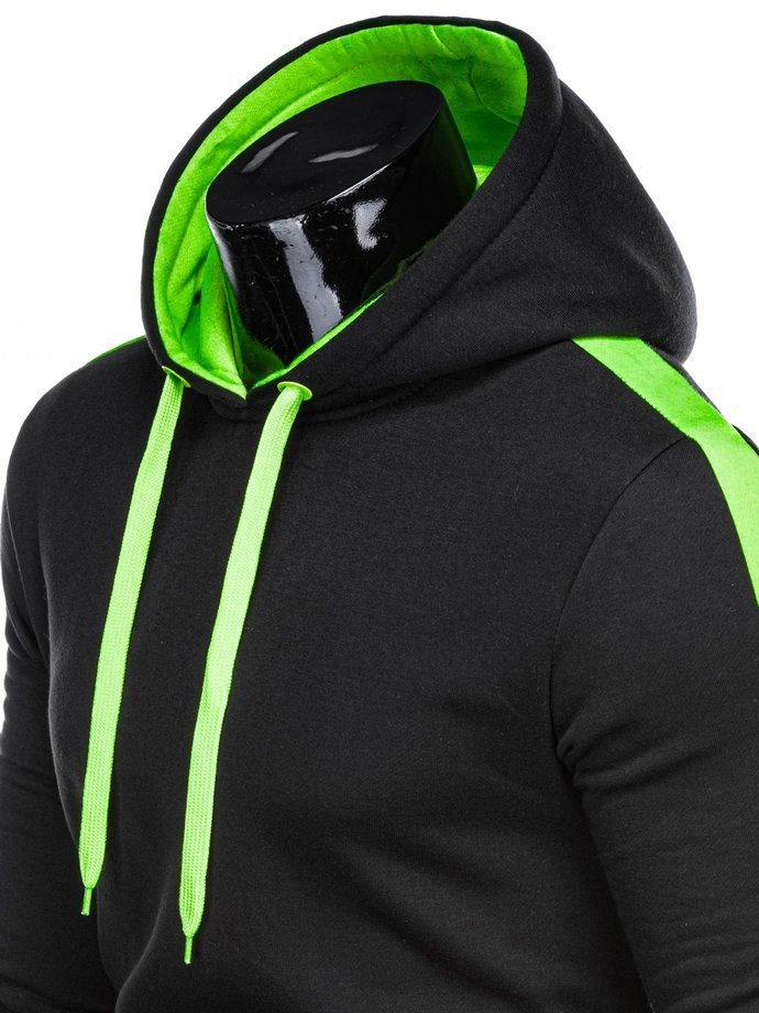 Men's hooded sweatshirt B1063 - black