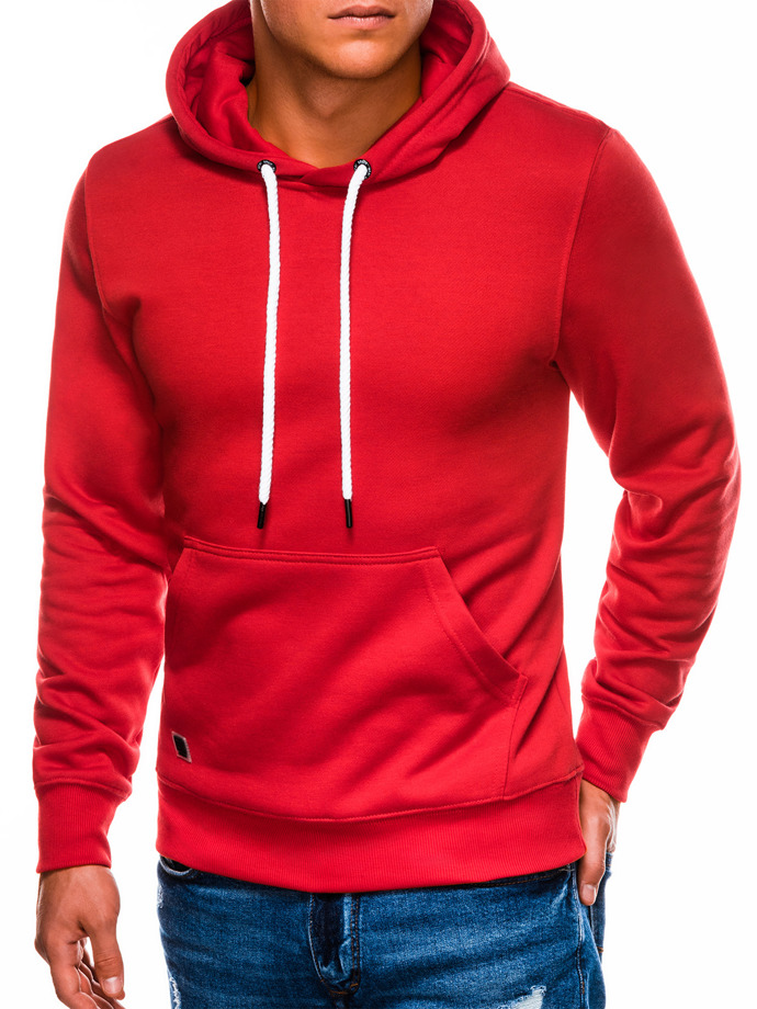 Men's hooded sweatshirt B979 - red
