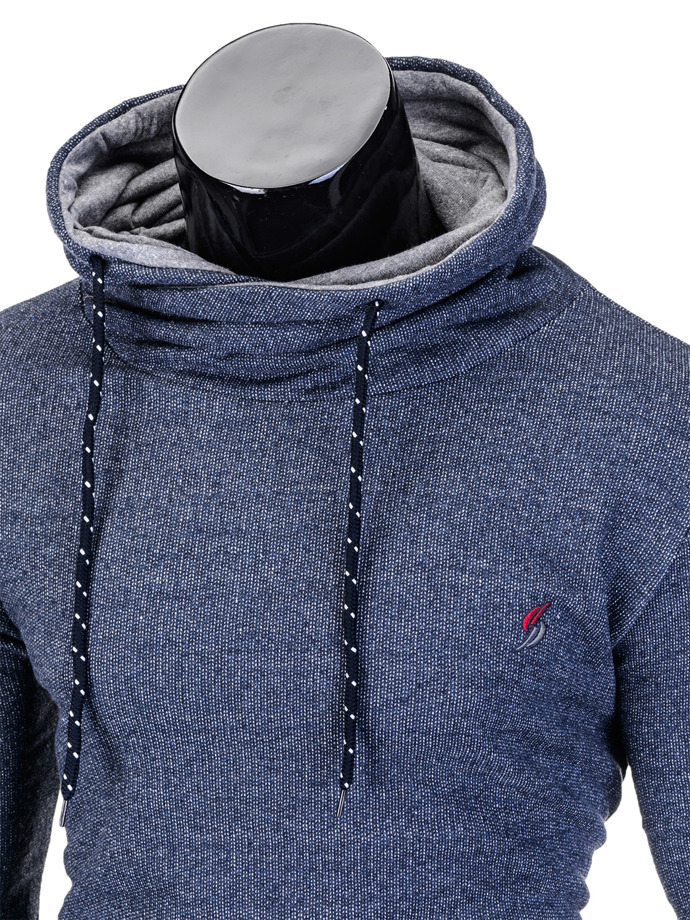 Men's hoodie B720 - light navy