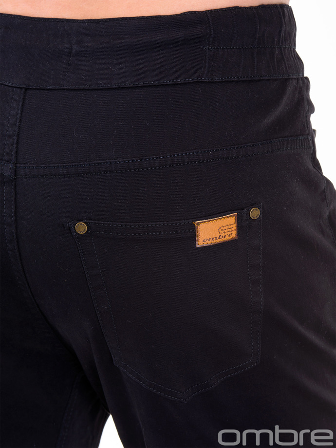 Men's jogger pants P417 - black