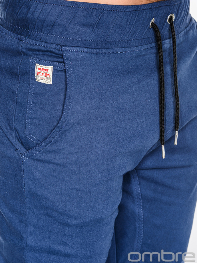 Men's jogger pants P435 - navy