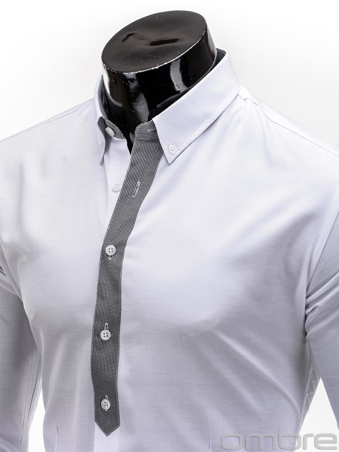 Men's shirt K101 - white