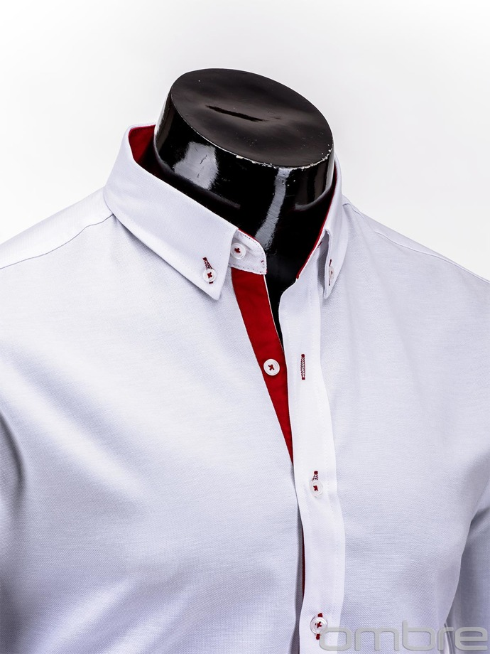 Men's shirt K135 - white