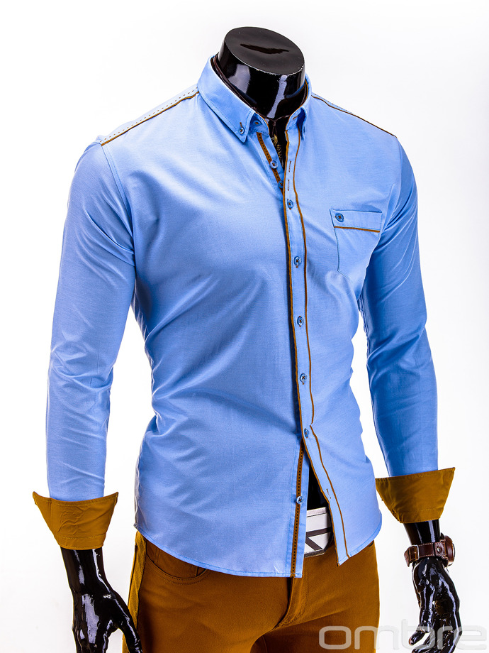 Men's shirt K230 - light blue