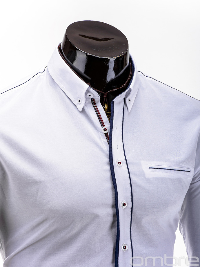 Men's shirt K232 - white