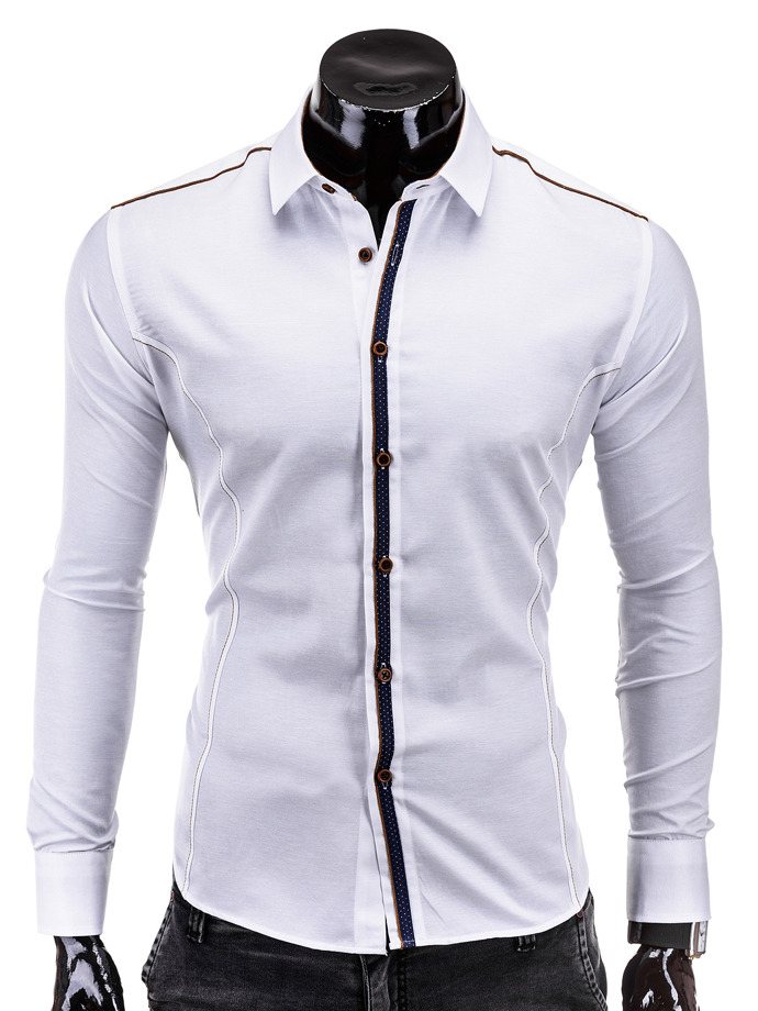 Men's shirt K249 - white