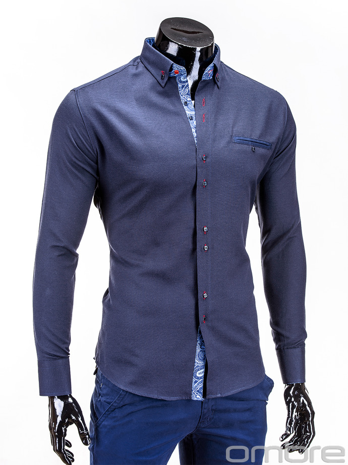 Men's shirt K251 - navy