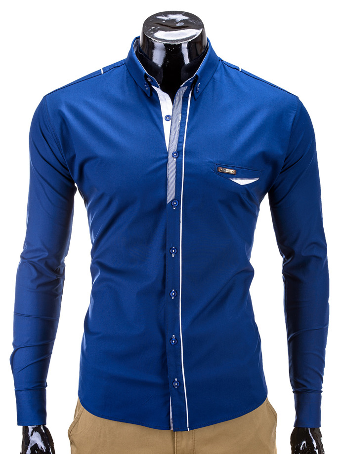 Men's shirt K269 - navy