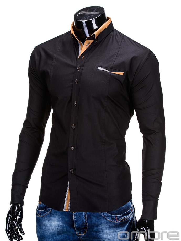 Men's shirt K285 - black