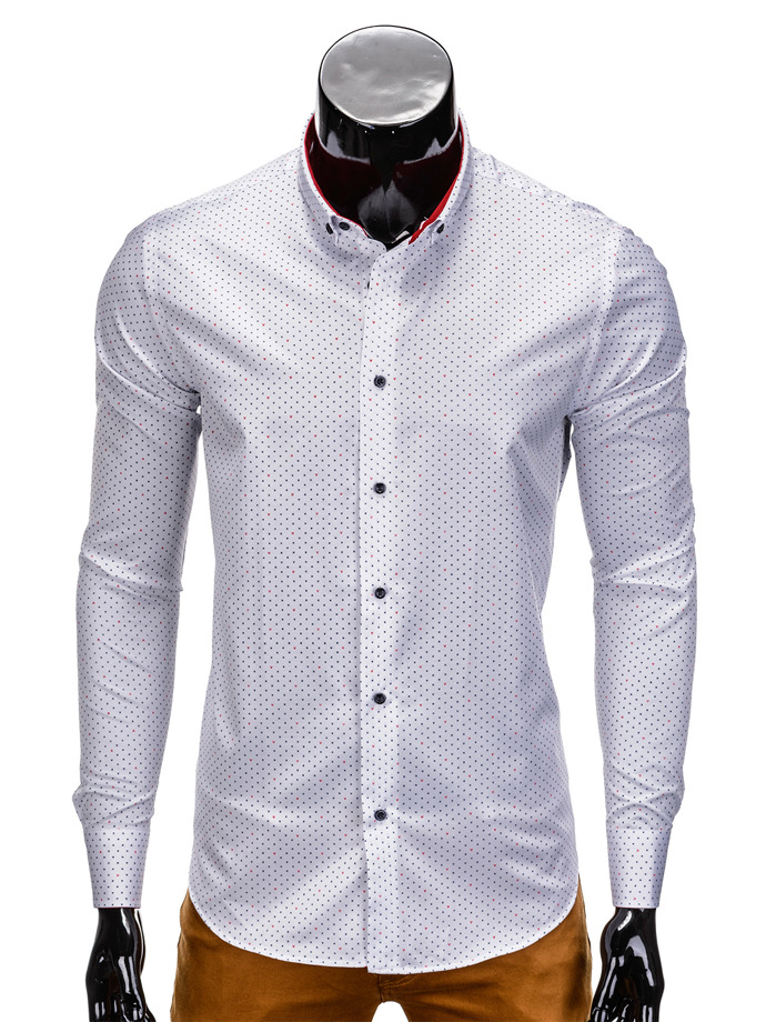 Men's shirt K354 - white