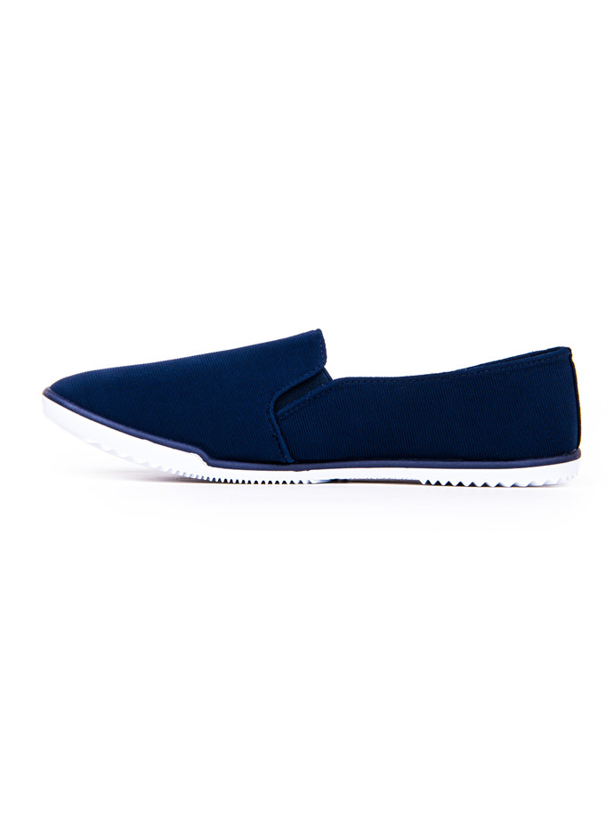 Men's slip-on trainers T141 - navy