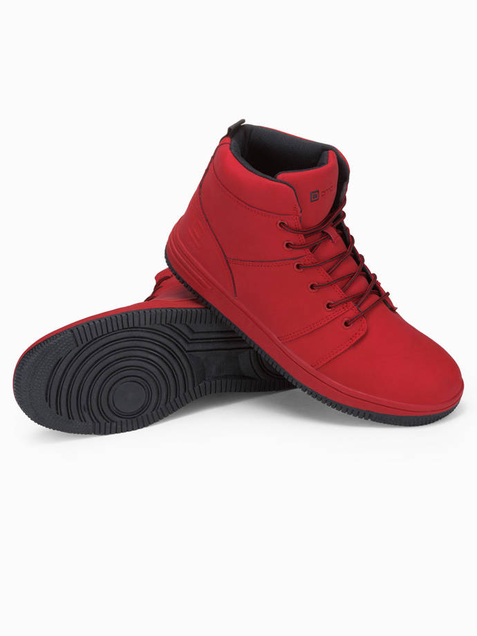 Men's sneakers T311 - red