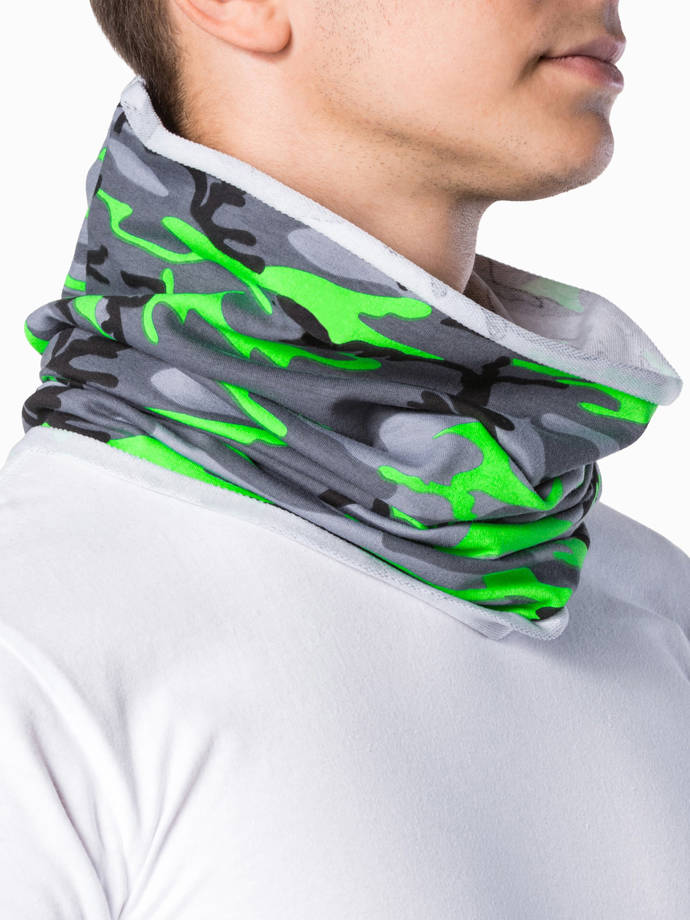 Men's snood A063 - green/camo