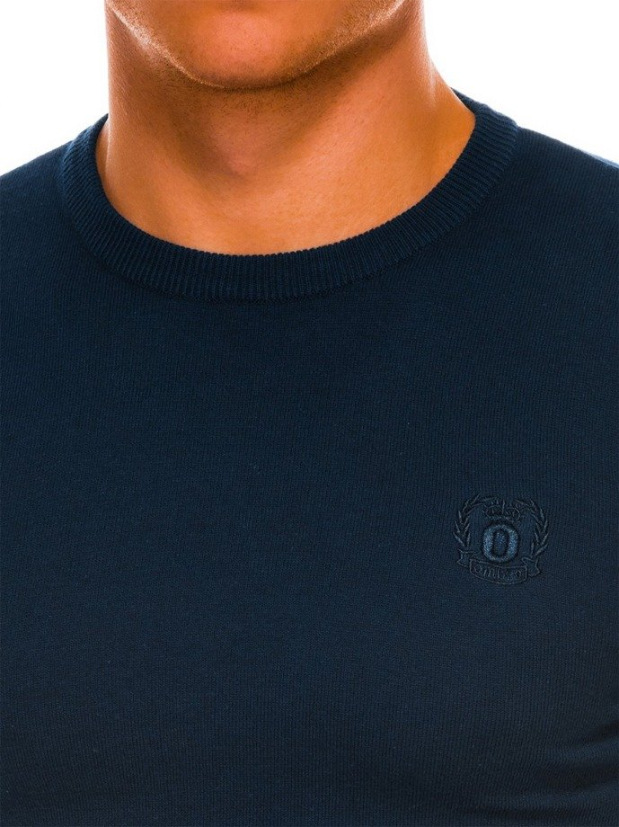 Men's sweater E122 - navy