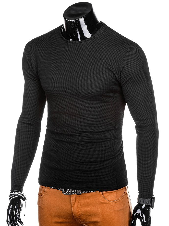 Men's sweater E175 - black