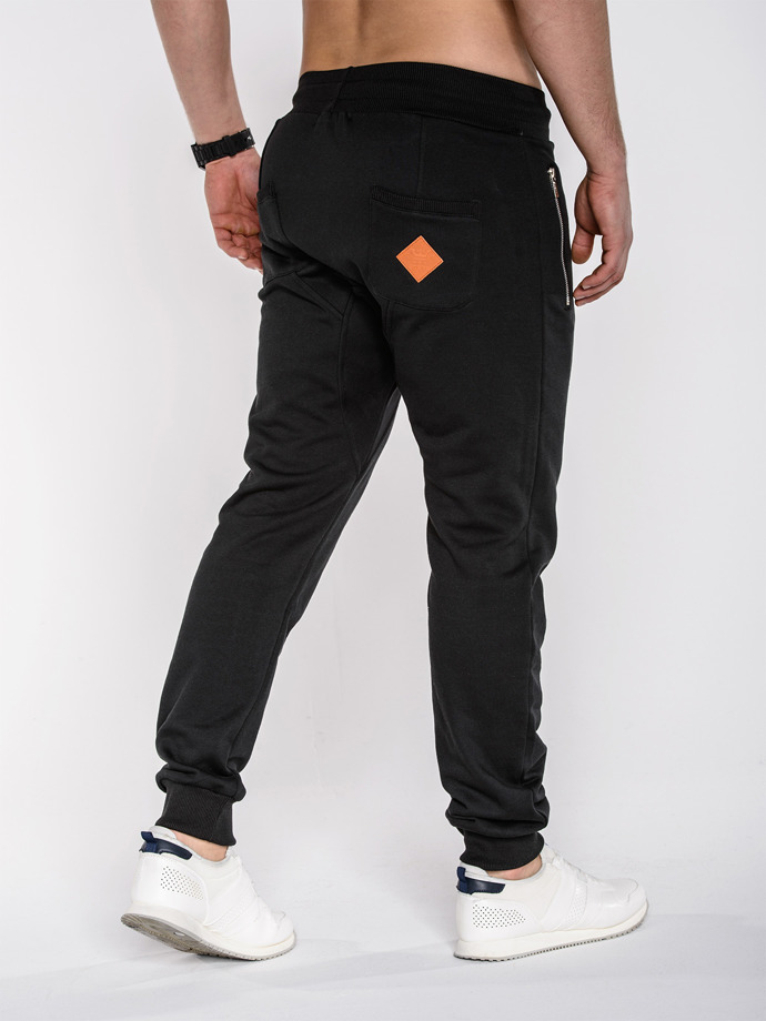 Men's sweatpants P230 - black