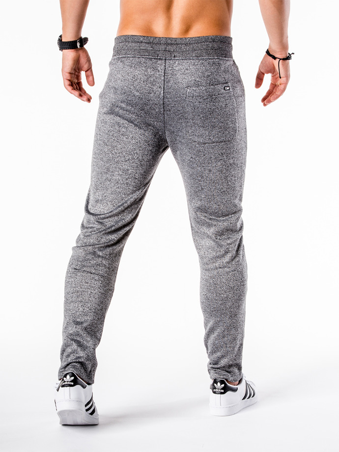 Men's sweatpants P549 - dark grey