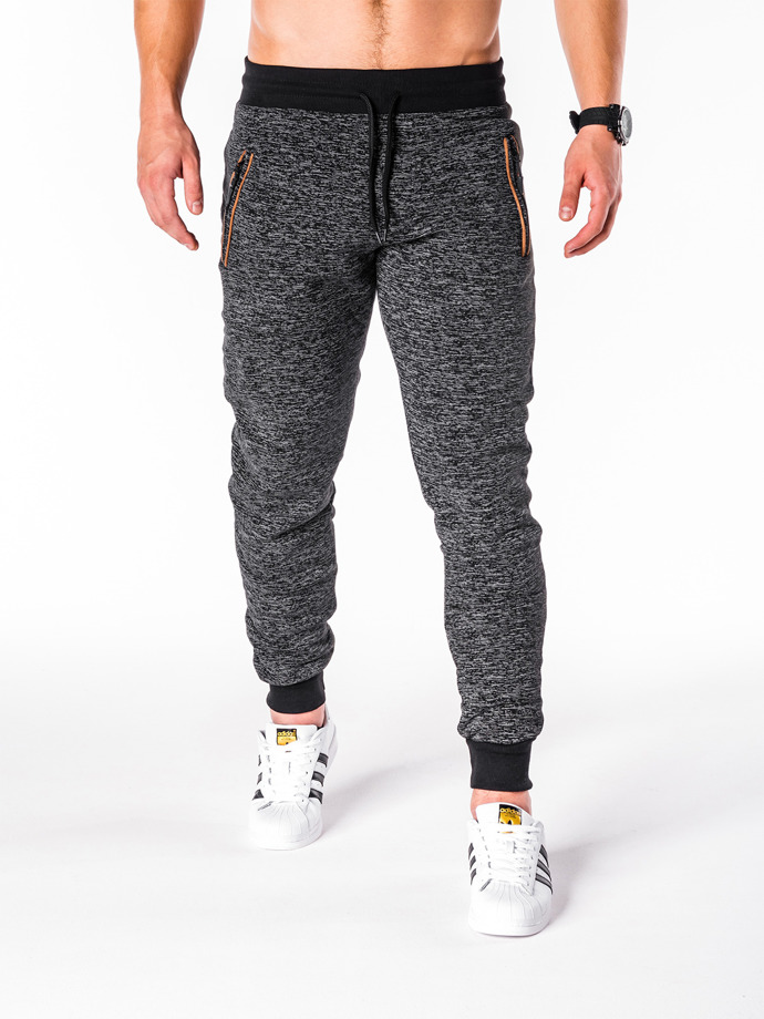 Men's sweatpants P604 - black