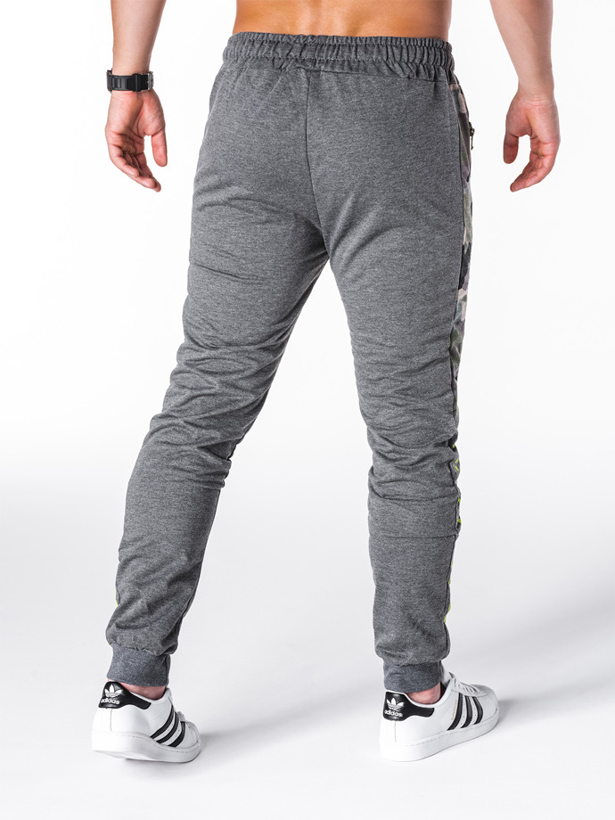 Men's sweatpants P686 - dark grey