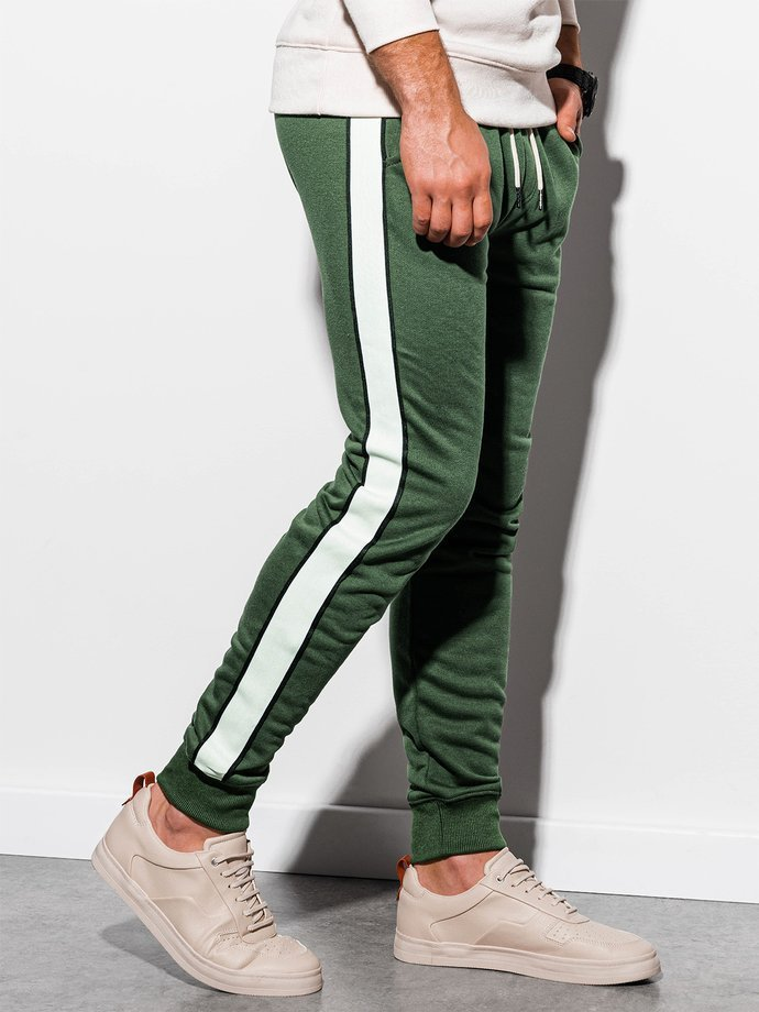 Men's sweatpants P865 - green