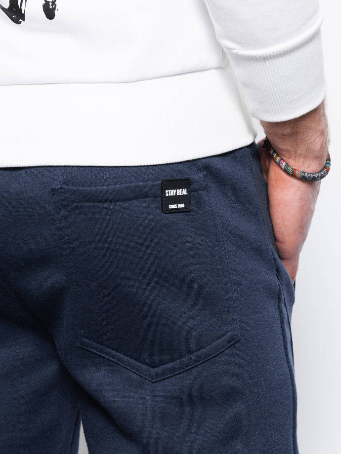 Men's sweatpants P867 - navy