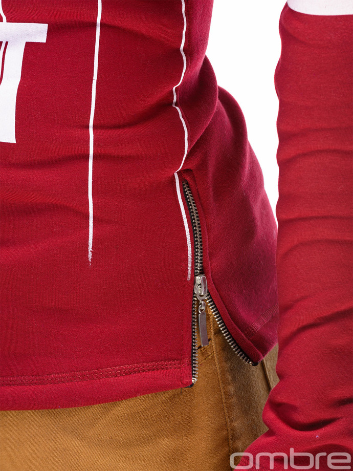 Men's sweatshirt B330 - burgundy