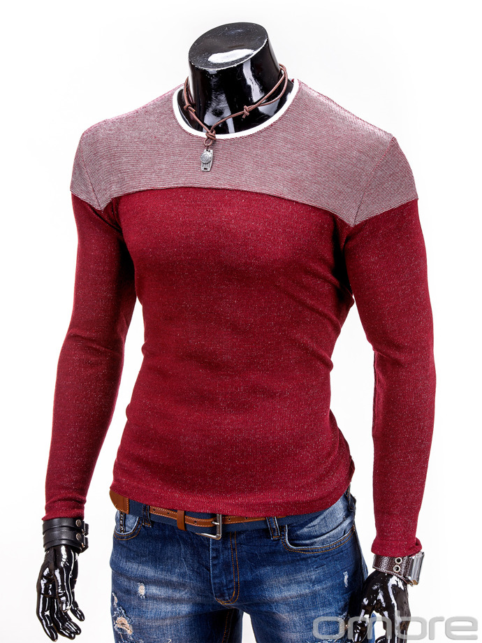 Men's sweatshirt B445 - red