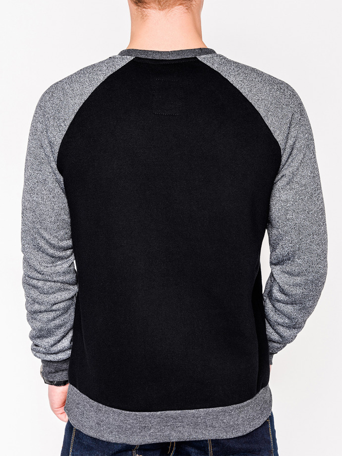 Men's sweatshirt B453 - black