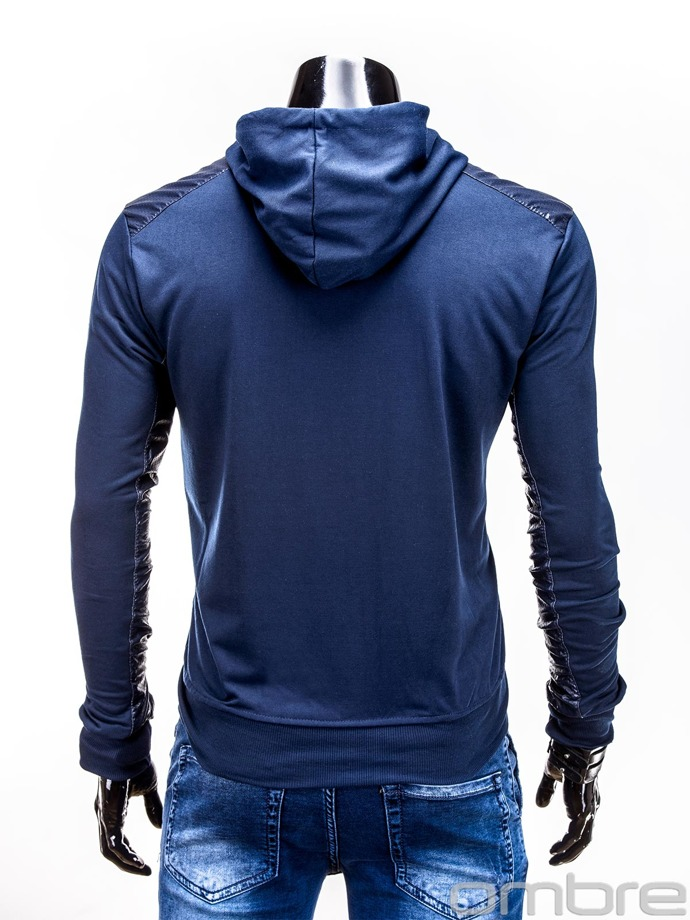 Men's sweatshirt B489 - navy