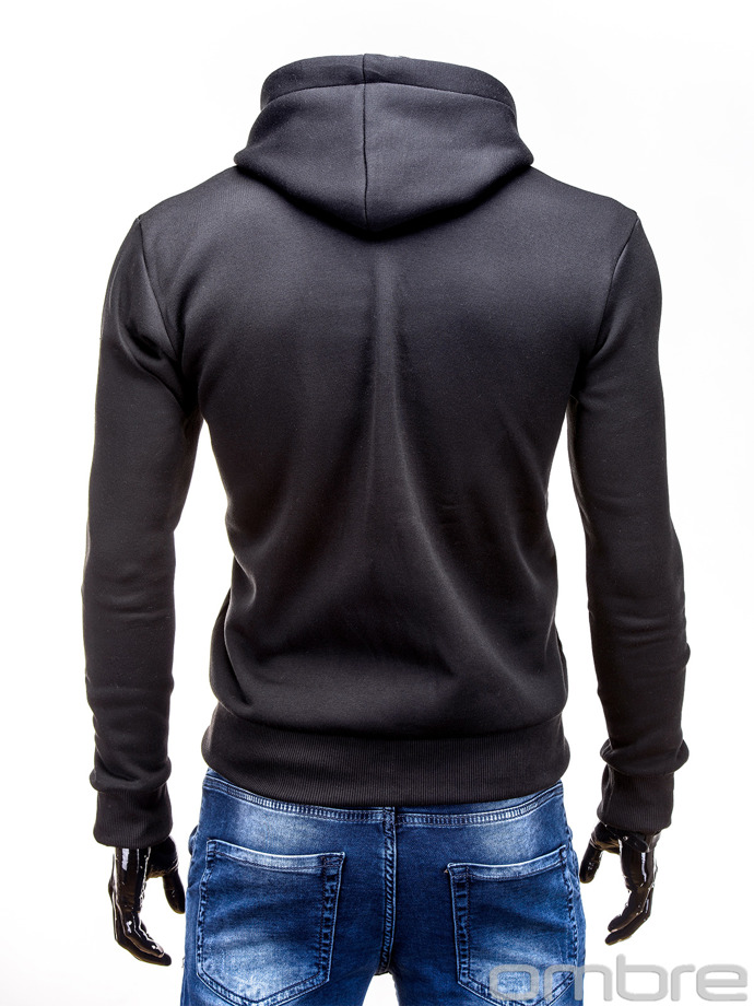 Men's sweatshirt B490 - black
