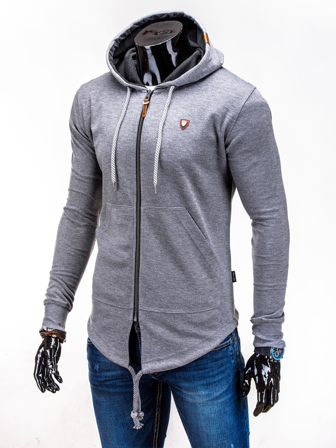 Men's sweatshirt B508 - dark grey