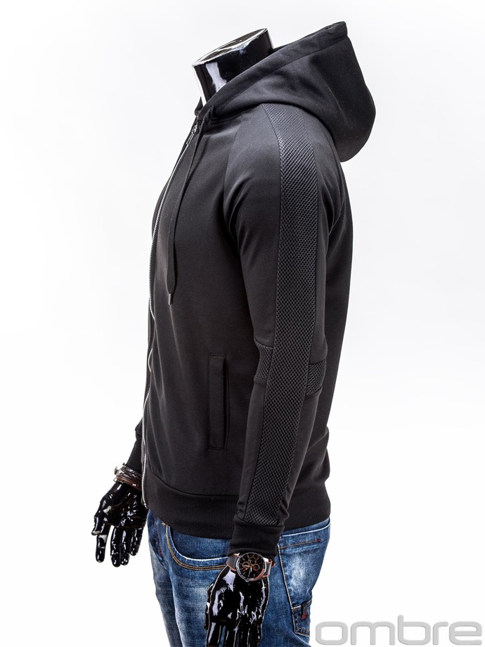 Men's sweatshirt B520 - black