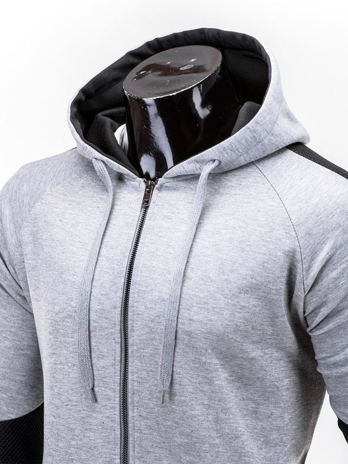 Men's sweatshirt B520 - grey