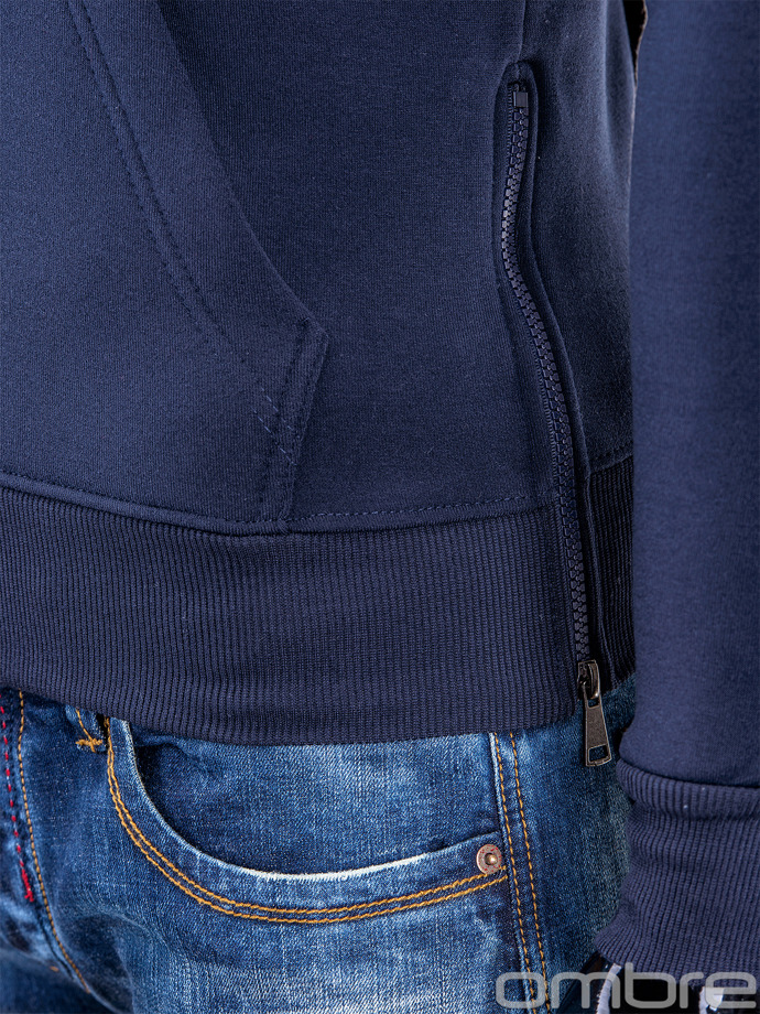 Men's sweatshirt B526 - navy