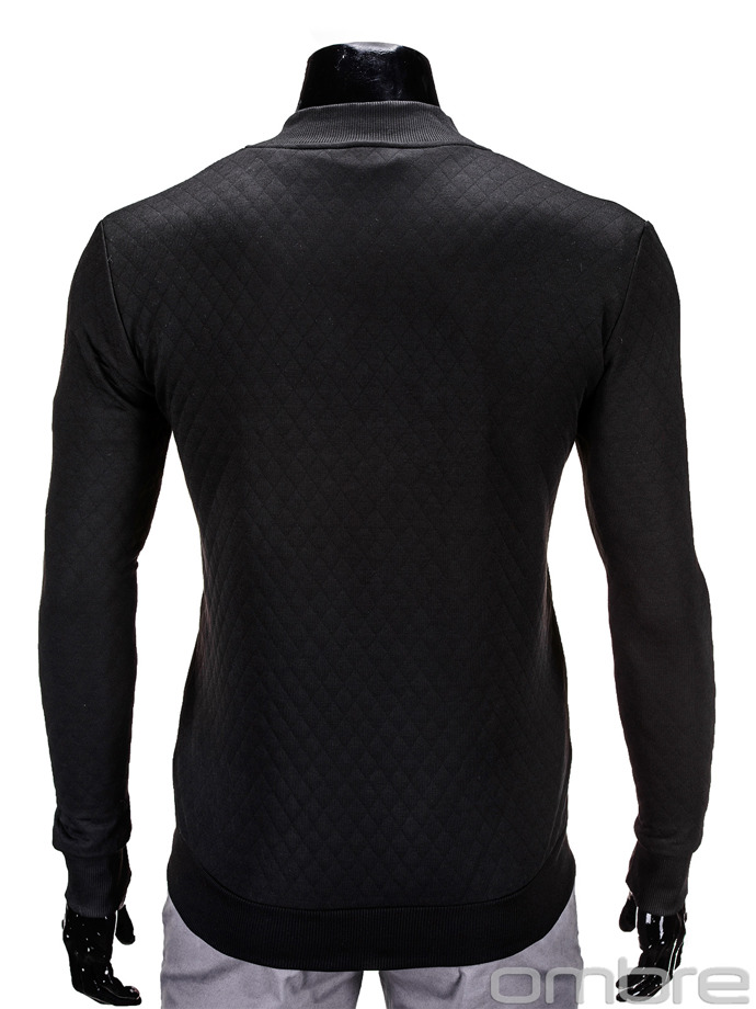 Men's sweatshirt B545 - black